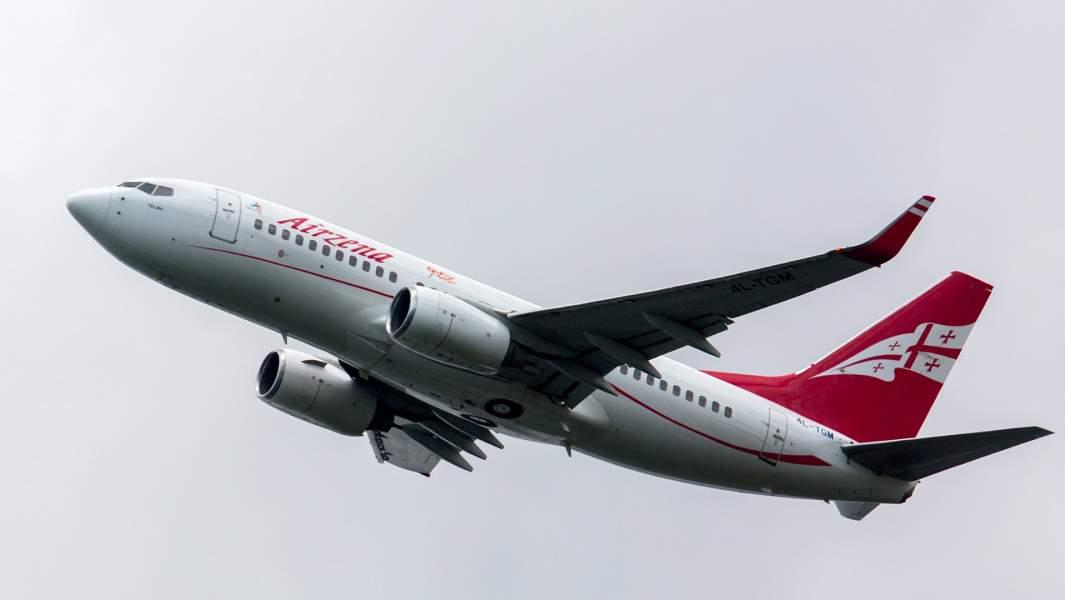 самолет грузия перелет