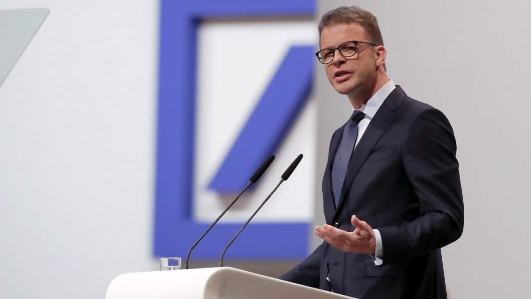 Генеральный директор Deutsche Bank Кристиан Зевинг