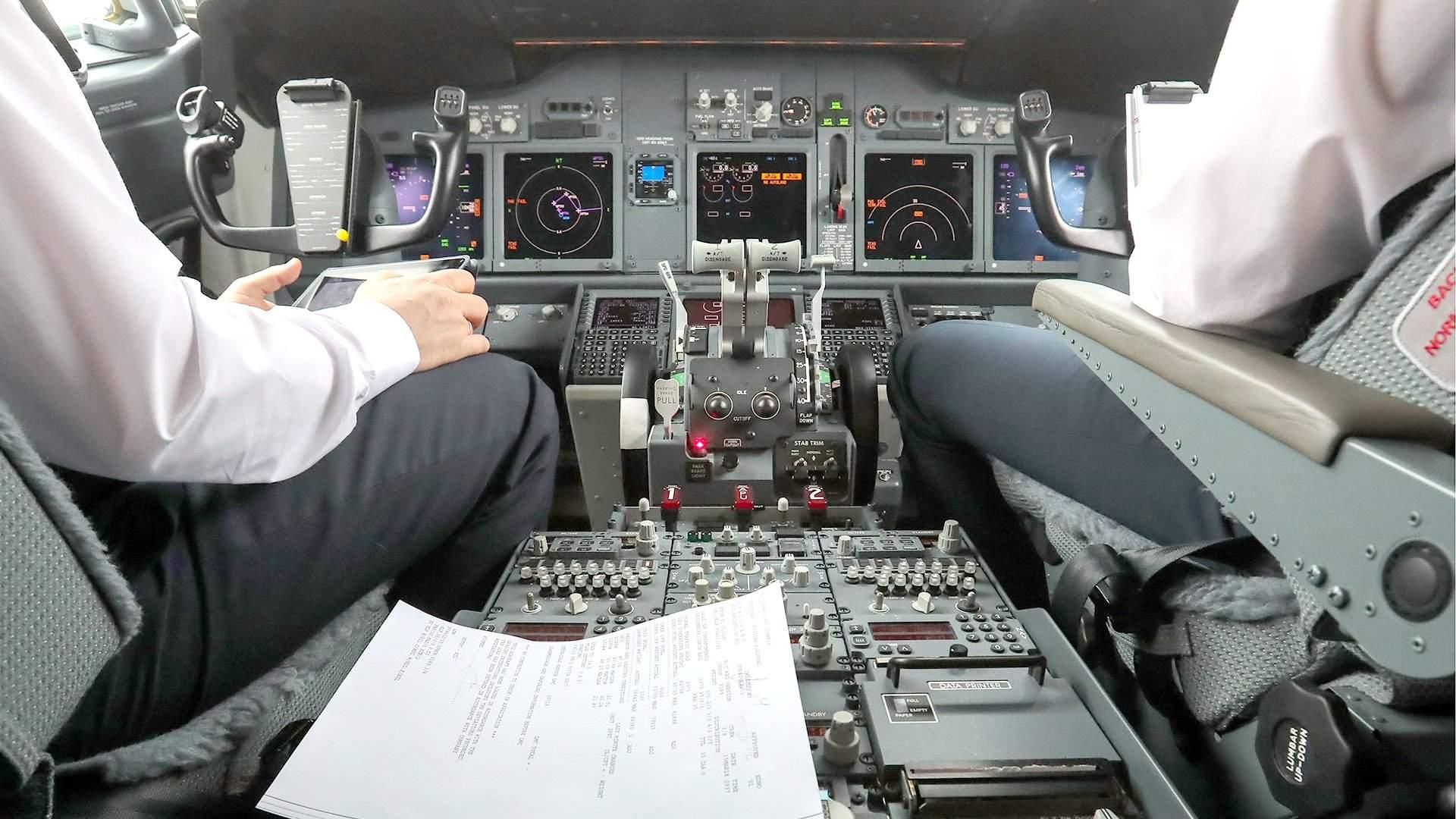 Обои приборы, Самолёт, кабина. Авиация foto 19