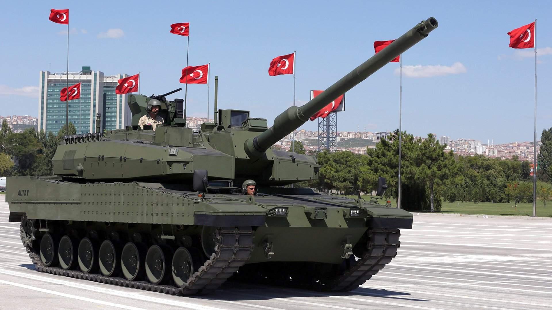 Да будет танк: Турция запускает «Алтай» в серийное производство | Статьи |  Известия