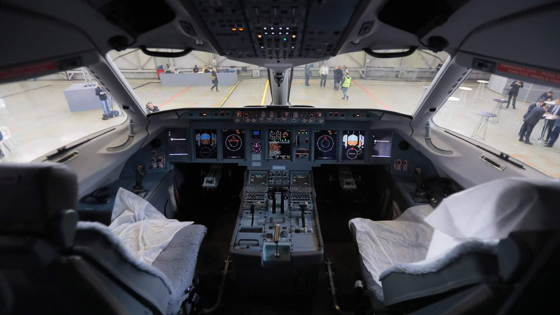Обои приборы, Самолёт, кабина. Авиация foto 15