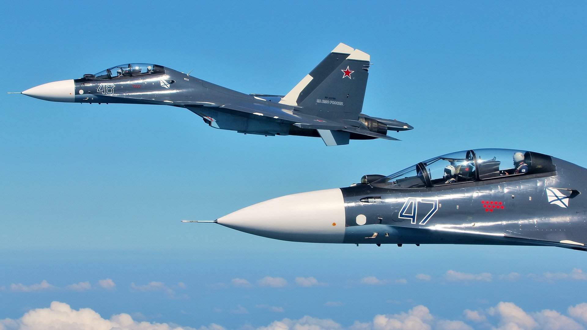 На одном крыле: Су-30 становится «единым самолетом» ВВС стран ОДКБ ...