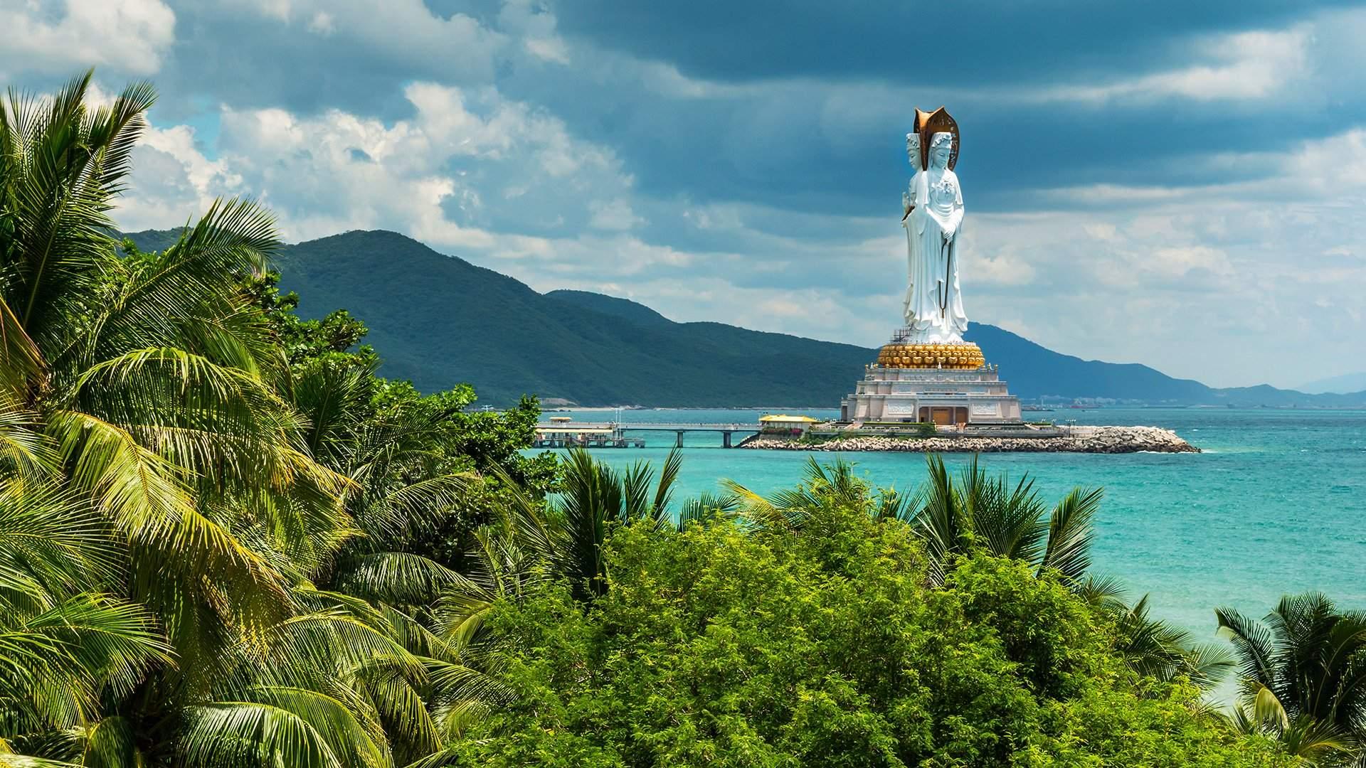 картинка фотография курорта Хайнань в Китае