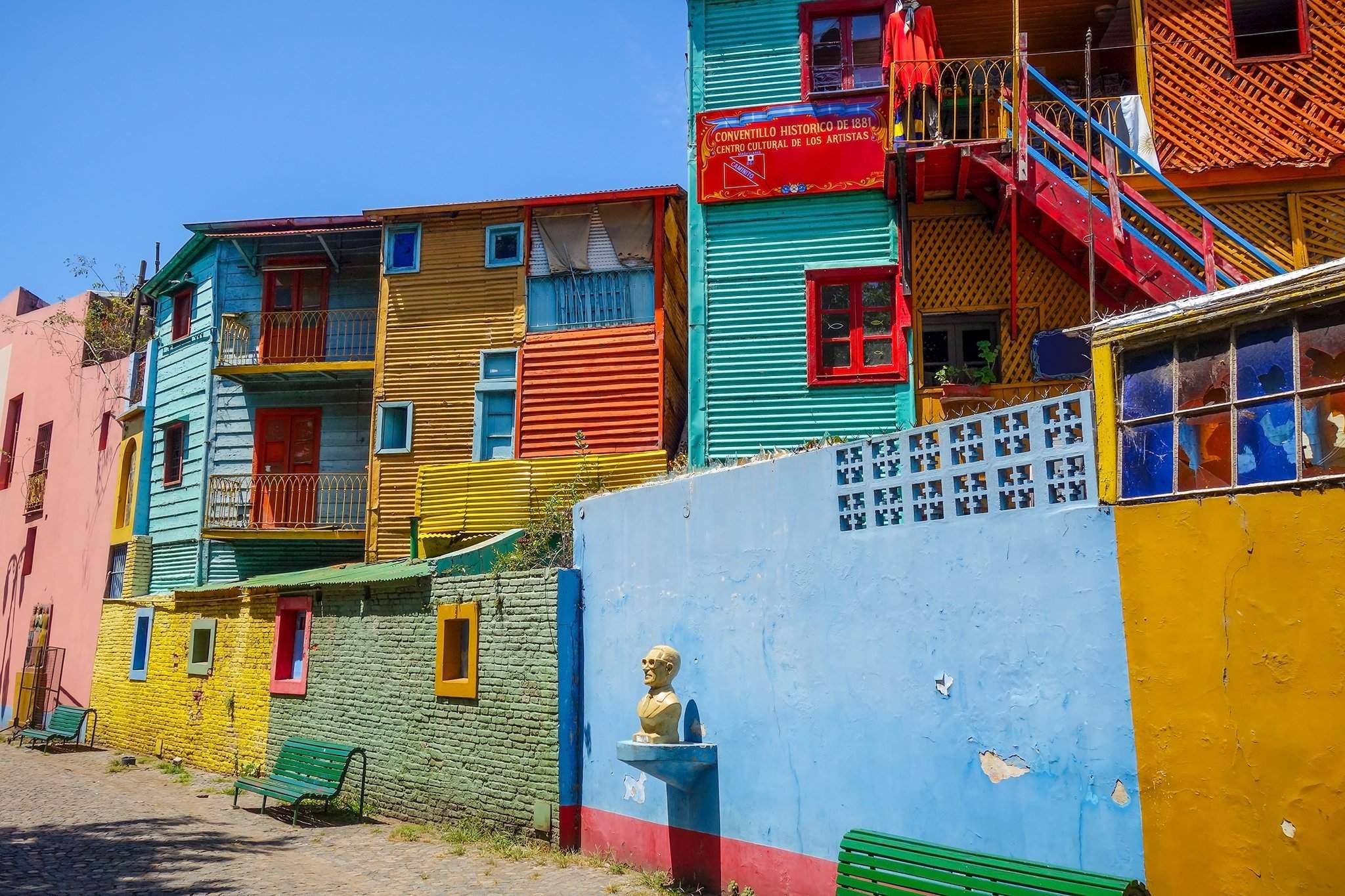Танго бүжгийн эх орон Буэнос- Айрес