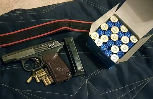 Огнестрельное оружие и 1,3 тыс. патронов изъяты у мужчины в Московской области