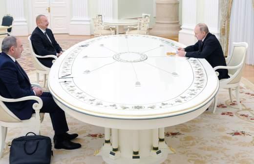 Путин рассказал детали принятия решения о прекращении огня в Карабахе