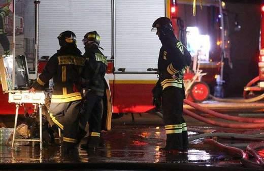 В Кабардино-Балкарии загорелось здание гостиницы