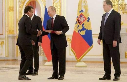 Сенаторы Цеков и Фадзаев награждены орденом Александра Невского