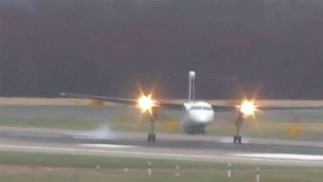 Пилоты россии смогли посадить самолёт