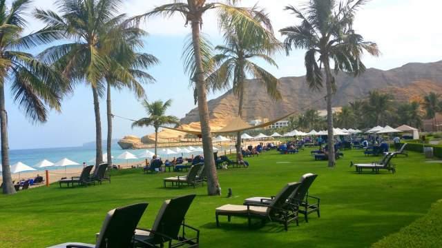 Пляж отеля Shangri-La Barr Al Jissah