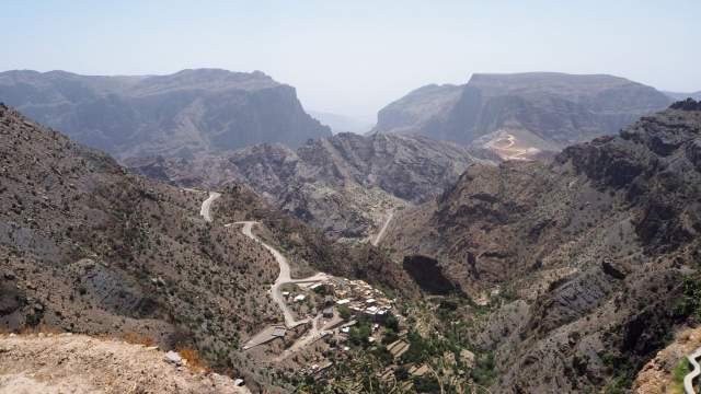 Вид на каньон с площадки Diana's Point