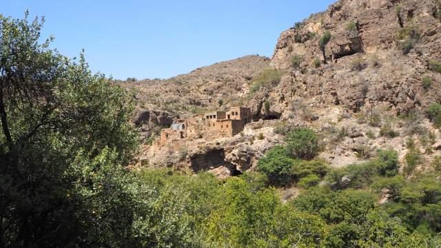 Заброшенная деревня в горах Джебель-Ахдар