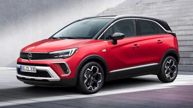 Рестайлиновый кроссовер Opel Crossland познакомит россиян с новым стилем Opel Vizor: фары соединены черной заглушкой, решетка радиатора при этом расположена ниже. Автомобиль компактнее представленной сейчас модели Grandland X и будет доступнее по цене