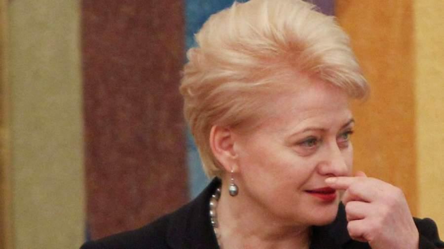 Президент Литвы не отказывается от своей советской диссертации  Президент Литвы не отказывается от своей советской диссертации