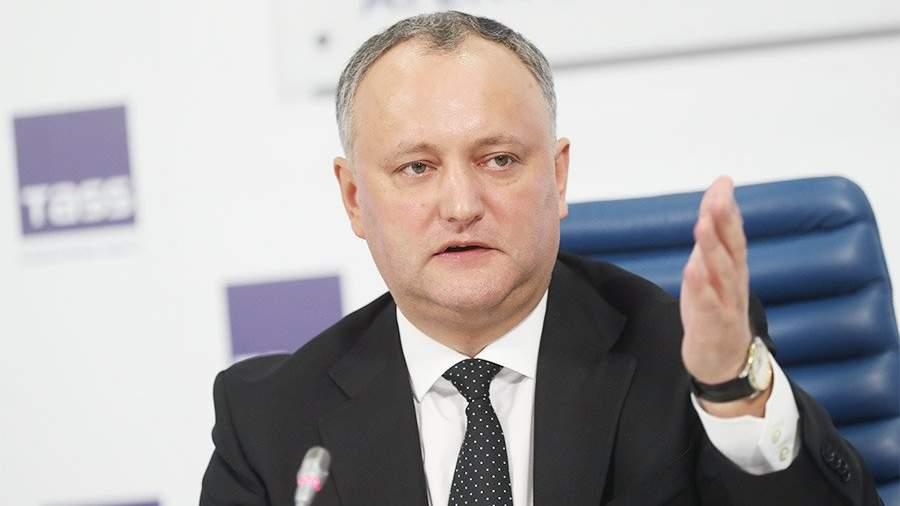 Додон не исключил возможности коалиции своей партии c партией Плахотнюка