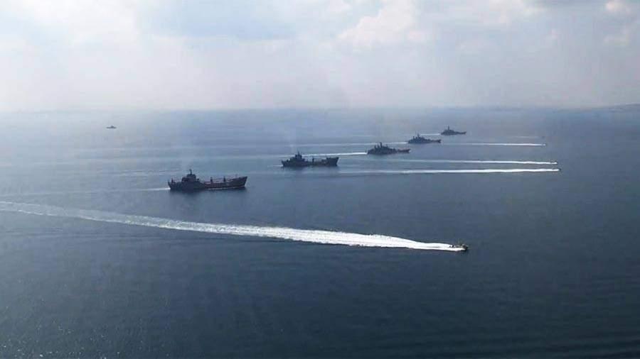 Каспийский флот 2017 учения с ираном