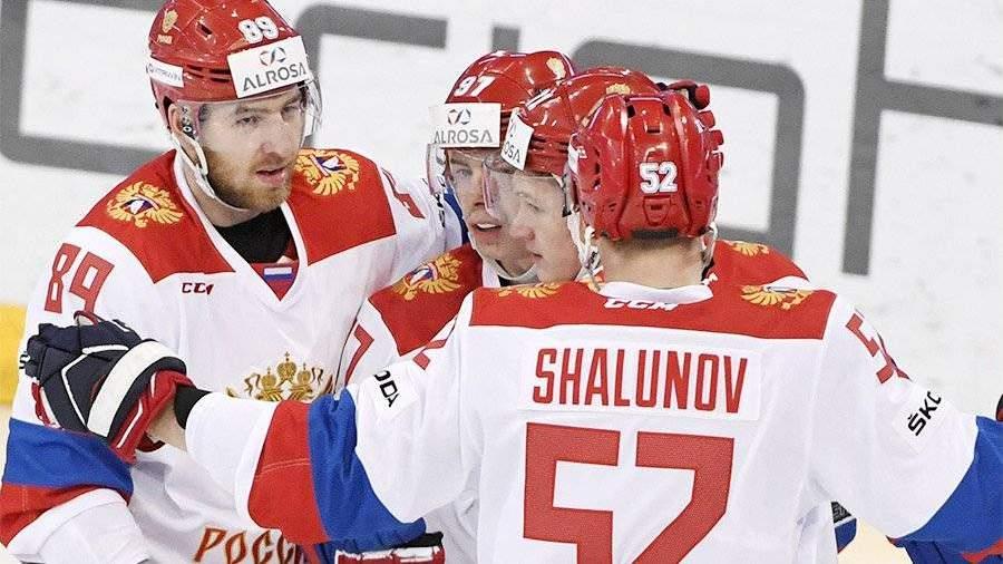 Результаты по хоккею сборной россии