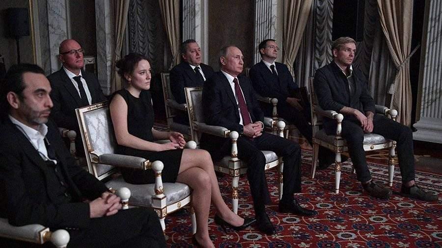 Владимир Путин восхищен «Легендой о Коловрате»