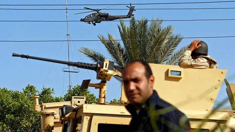 Боевики обстреляли аэропорт на севере синайского полуострова в египте