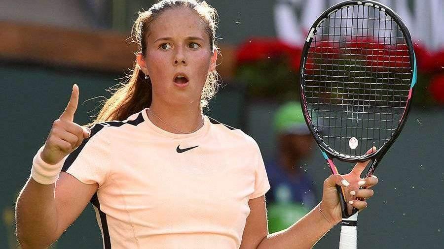 Касаткина победила чемпионку US Open на турнире в Индиан-Уэллсе