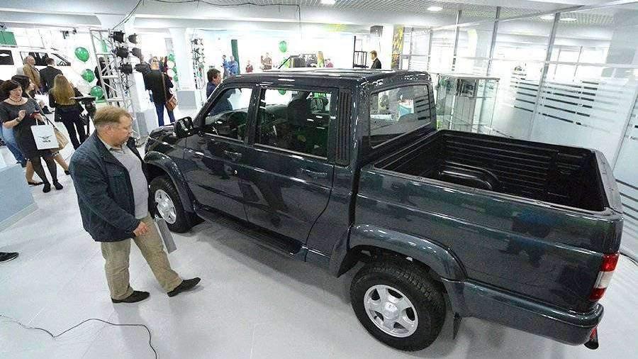 Обновленный «УАЗ Пикап» поступил в продажу