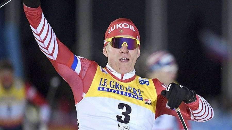 Лыжник фото