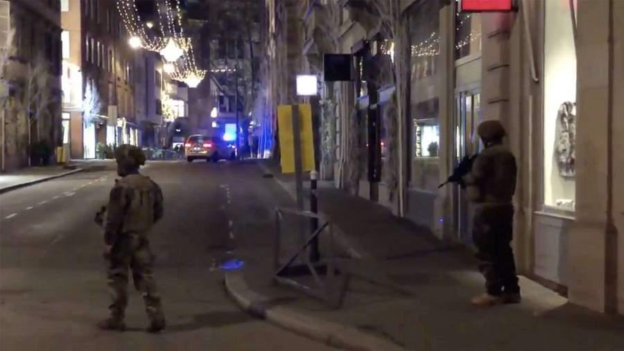 Стрельба в центре Страсбурга. 1 человек погиб, 3 ранены