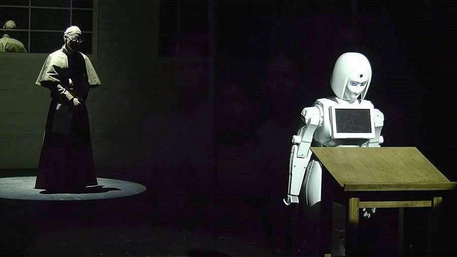Московский робот исполнит главную роль в израильской пьесе