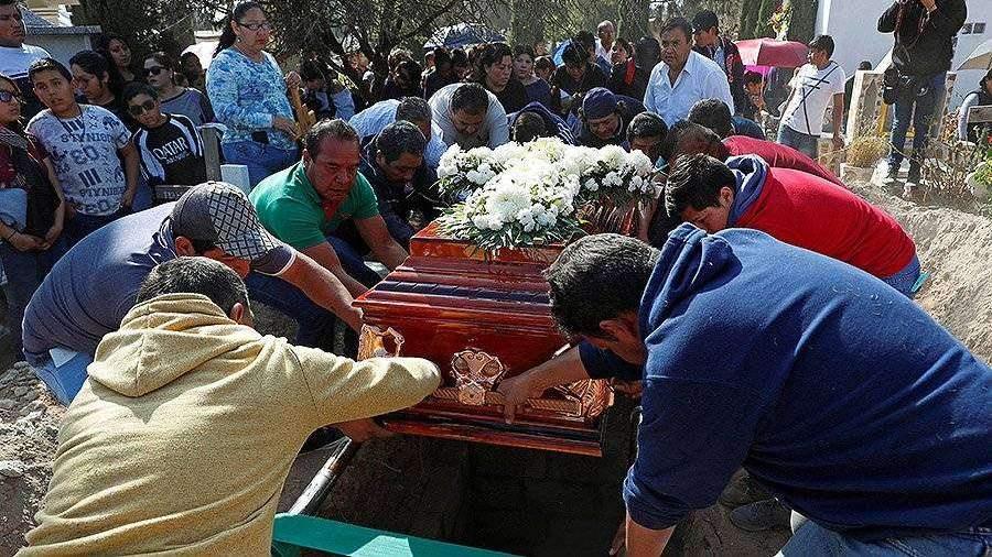 Мексикада құбыр желісіндегі жарылыс құрбандарының саны 91 адамға жетті