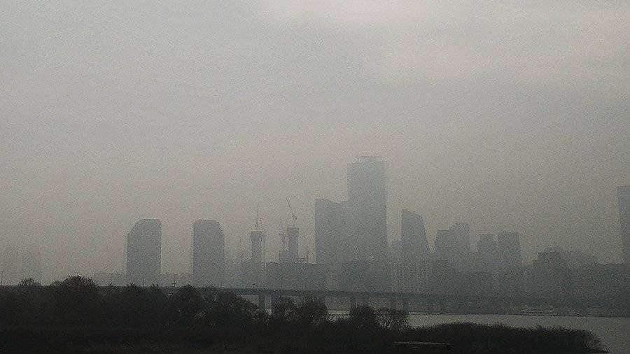 В Южной Корее введены экстренные меры из-за микропыли в воздухе