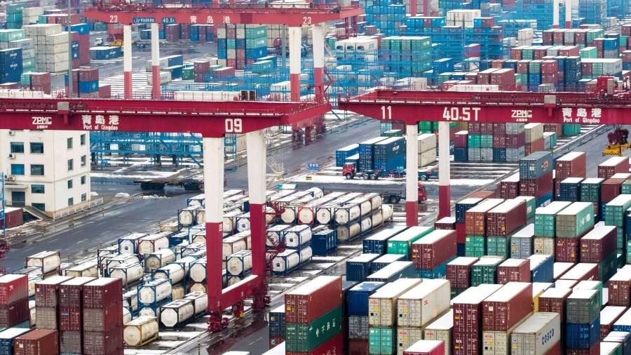 Китай увеличил товарооборот с Россией и сократил с США