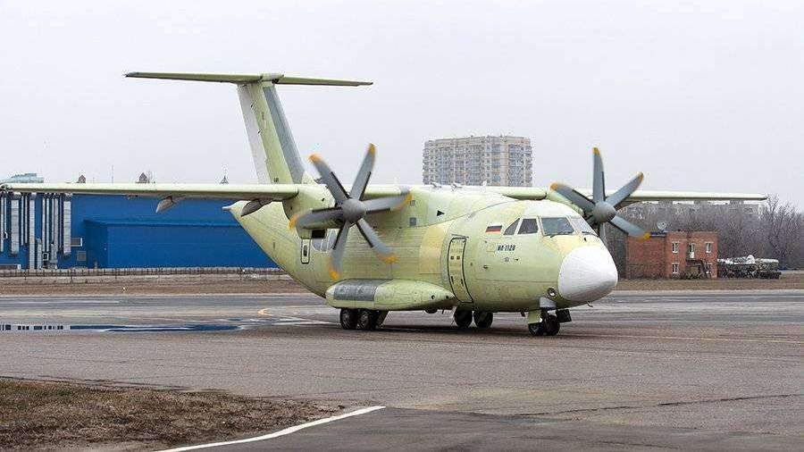 Новый транспортник Ил-112В совершил первый полет