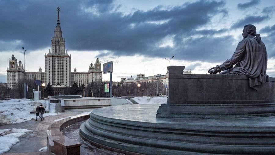 Февраль в Москве стал одним из самых темных за 20 лет...