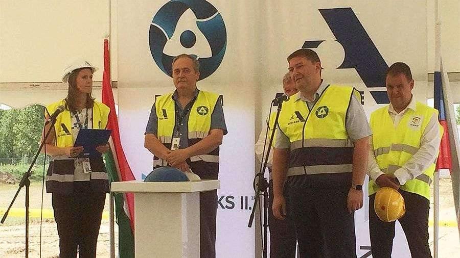 «Росатом» начал строительно-монтажные работы на месте венгерской АЭС «Пакш-2»