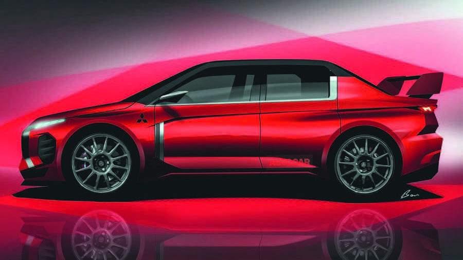 Mitsubishi собирается возродить модель Lancer Evolution
