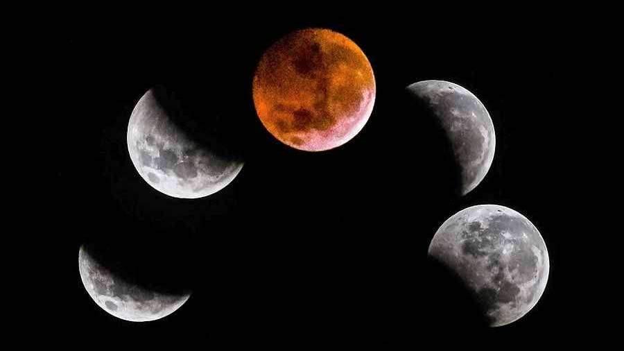 Названа дата следующего лунного затмения