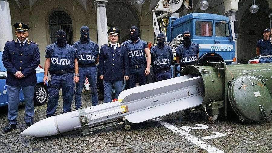 У неонацистов в Италии изъяли ракету «воздух-воздух» Ital