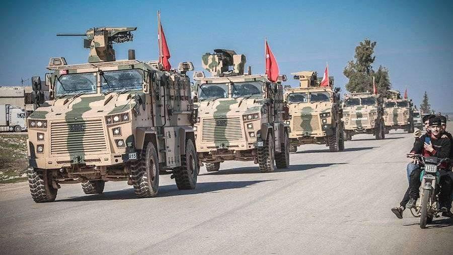 МИД Сирии заявил о движущихся в Хан-Шейхун турецких БТР
