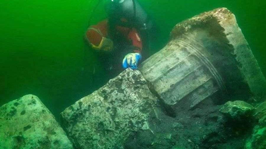 Археологи нашли главный храм «египетской Атлантиды»