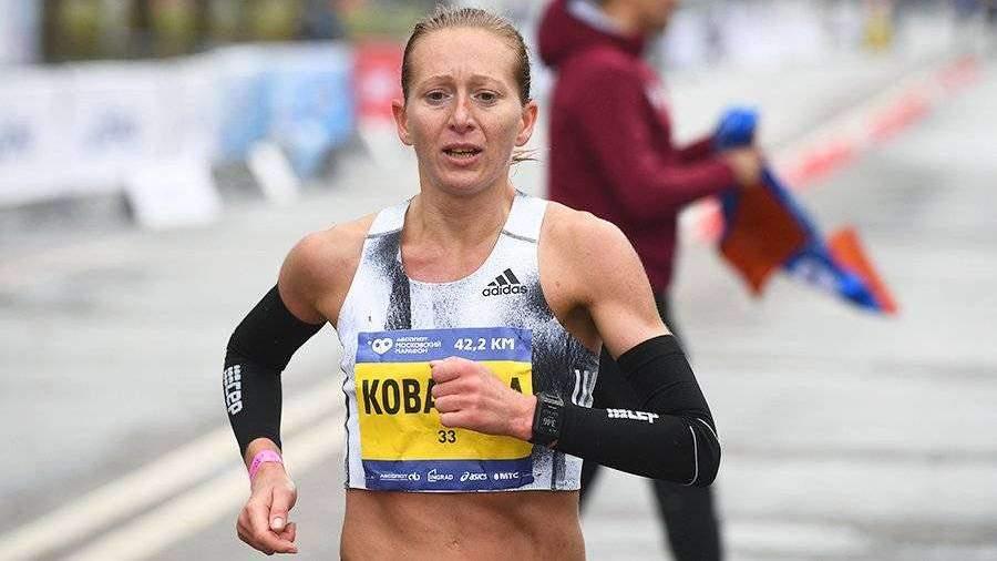 Ядгаров и Ковалева победили в Московском международном марафоне