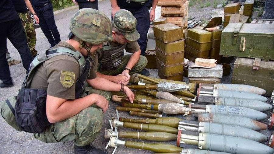 Три воевавшие в Донбассе «добровольческих батальона» разоружили