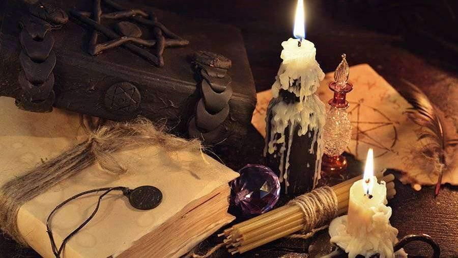 Магия свечей в картинках