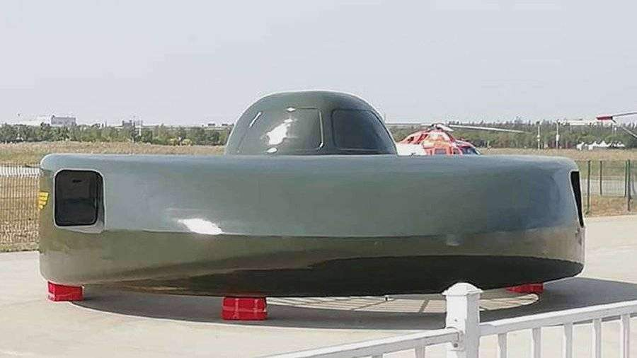 china-reveals-exotic-flying-saucer-shaped-armed-helicopter-concept