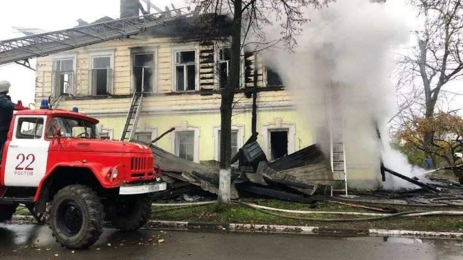 Пожар с семью погибшими в жилом доме под Ярославлем произошел из-за поджога