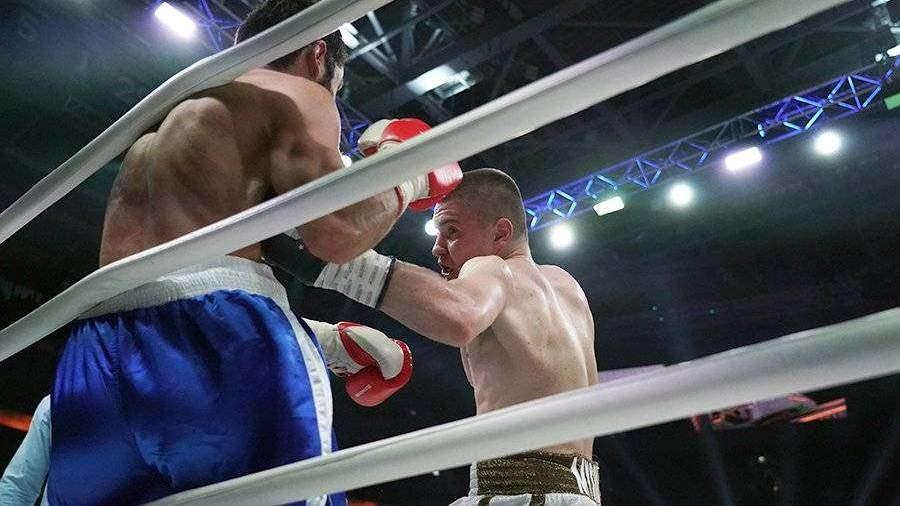 Грузинский боксер Султанишвили проиграл россиянину Мышеву в Москве