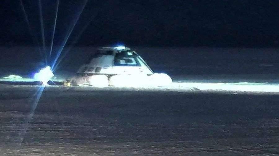 NASA и Boeing успешно посадили Starliner после неудачной стыковки с МКС