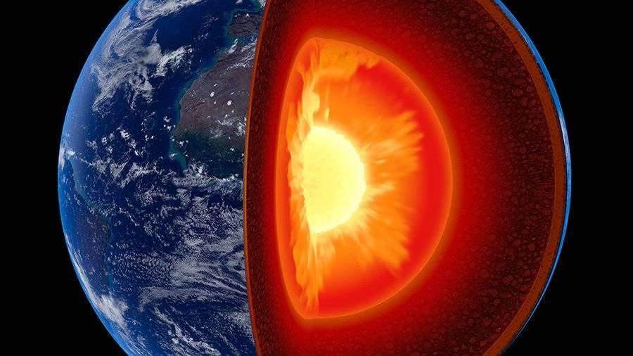Ученые предположили существование железного «снега» в ядре Земли
