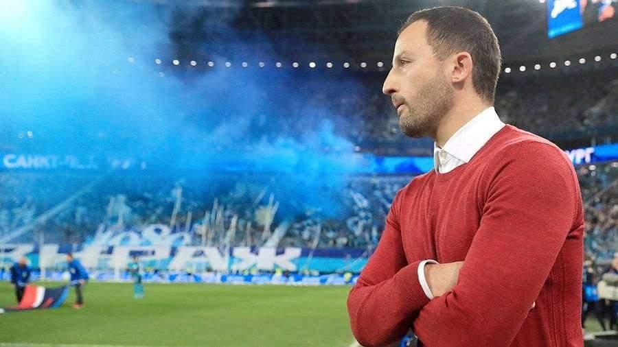 Тедеско назвал заслуженным поражение «Спартака» в матче с «Зенитом»