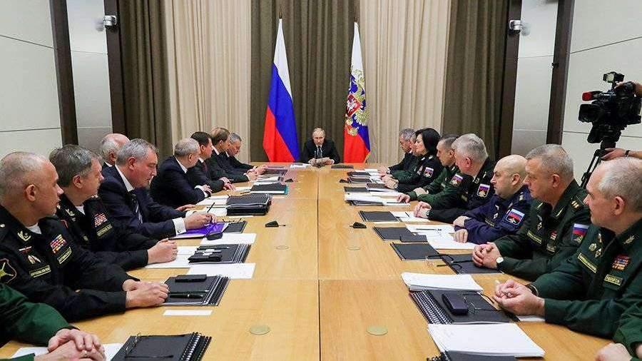 Путин высказался против милитаризации космоса