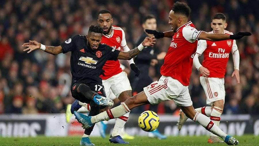«Арсенал» обыграл «Манчестер Юнайтед» в матче АПЛ